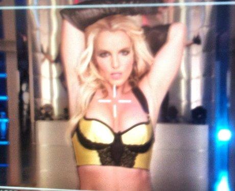 Britney Spears films her new music video in September 2013