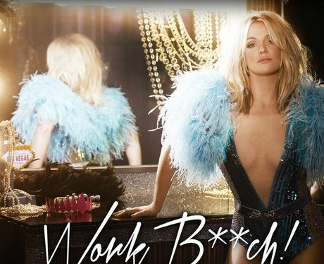 Britney Spears Work B***h Artwork