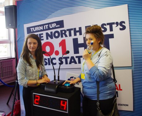 Capital Gameshow at Northumberland College