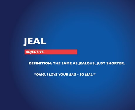 Chambers Dictionary - Jeal