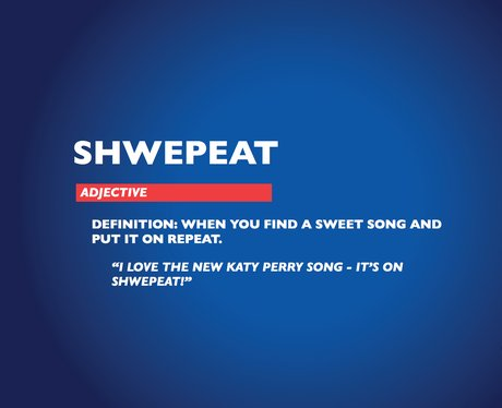 Chambers Dictionary - Shwepeat