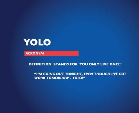 Chambers Dictionary - YOLO