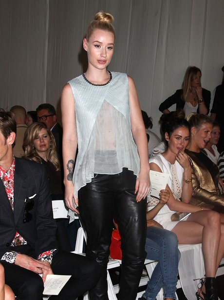 Iggy Azalea Fashion Week 2013