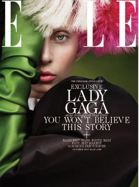 Lady Gaga ELLE 2013