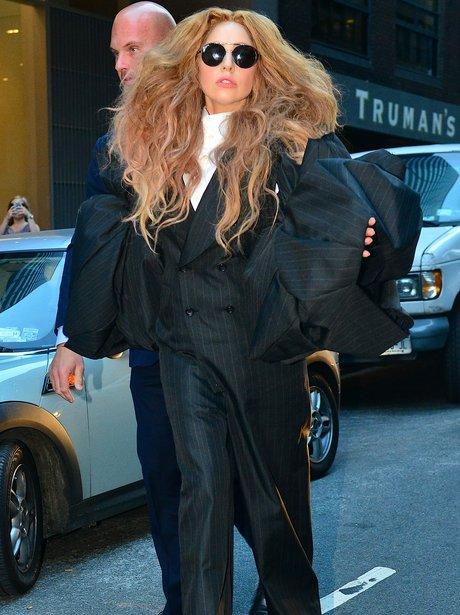 Lady Gaga Fashion Week 2013