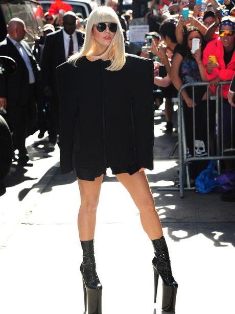 Lady Gaga 'Good Morning America'