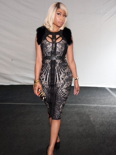 Nicki Minaj at Fashion Week