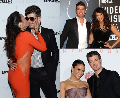 Pop Power Couples: Paula Patton and Robin Thicke