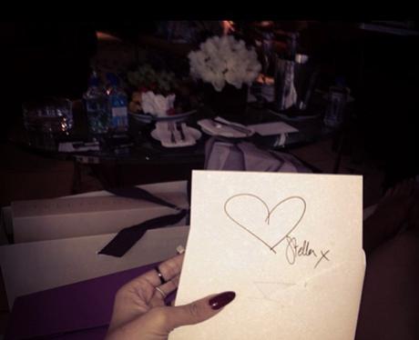 Rihanna enjoys a night out in London