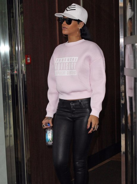Rihanna Parental Advisory Jumper