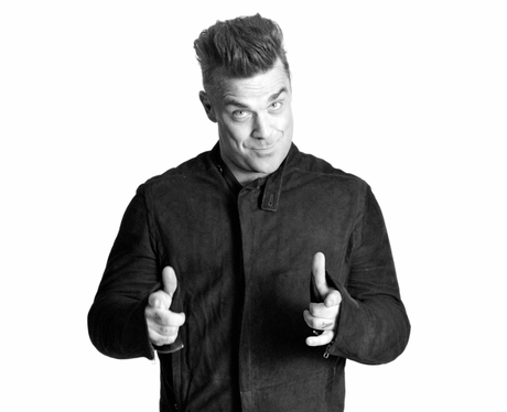 Robbie Williams in the Capital advert 2013