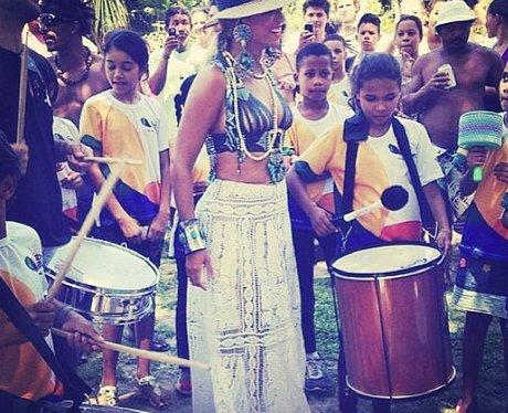 Beyonce in Brazil