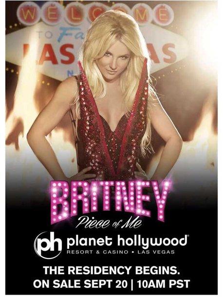 Britney Vegas Poster