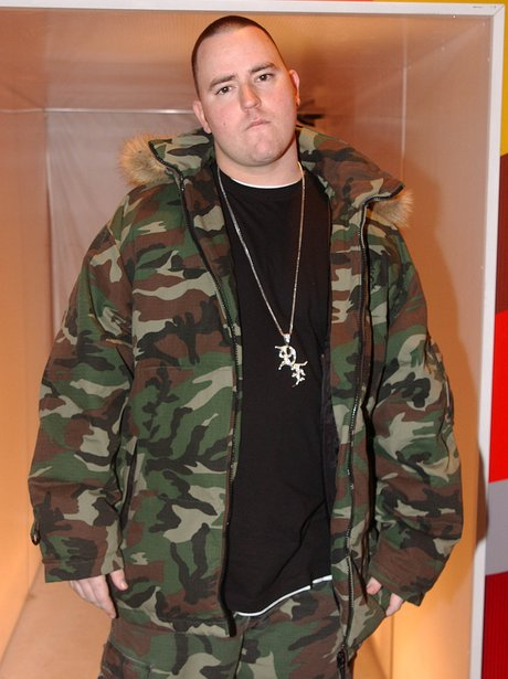 Bubba Sparxxx shows off his camo jacket