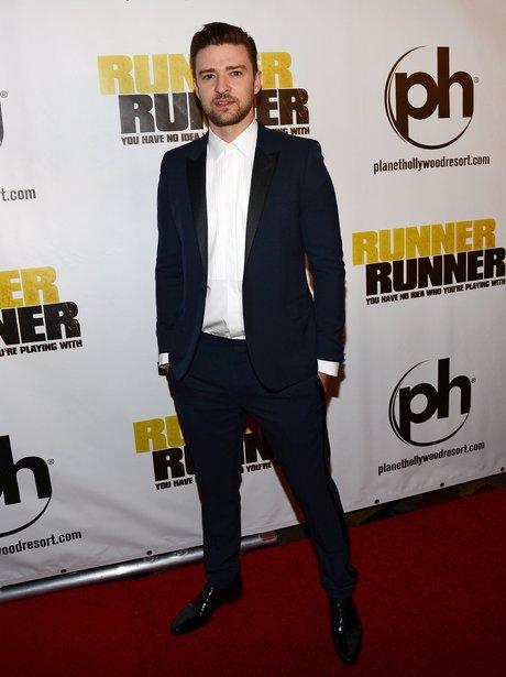 Justin Timberlake Runner Runner Premiere