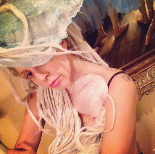 Lady Gaga Instagram Dreadlocks