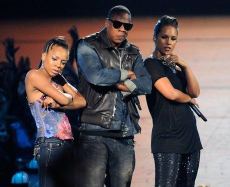 Lil Mama, Jay-Z and Alicia Keys