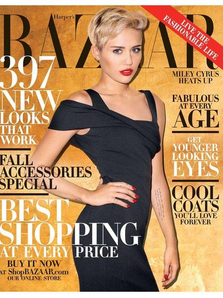 Miley Cyrus Harpers Bazaar 2013