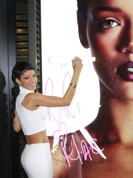 Rihanna MAC launch in Hong Kong