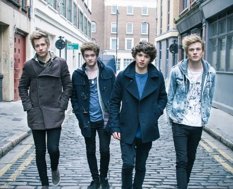 The Vamps pose in a new promo picture