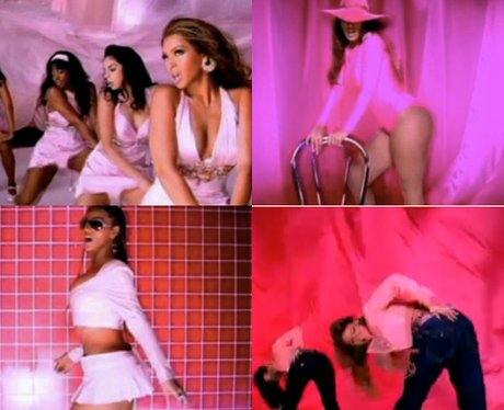 Beyonce twerking in the 'Check On It' music video
