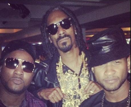 Usher and Snoop Dog instagram