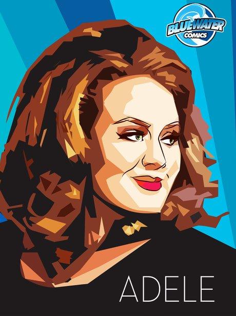 Adele stars in her own comic book