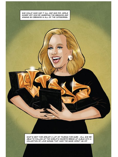 Adele Comic Book