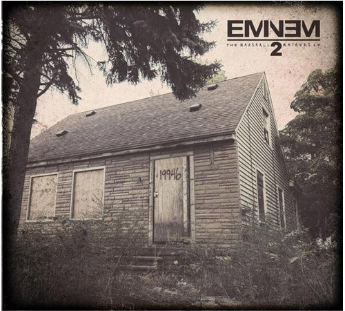 Eminem Unveils Cover Artwork For New Album 'The Marshall Mathers LP 2'