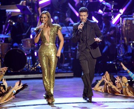 Justin Timberlake and Beyonce