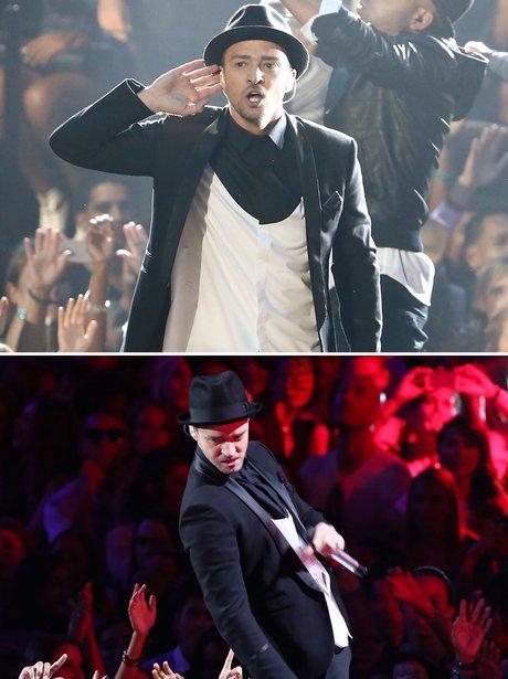 Justin Timberlake VMA's 2013