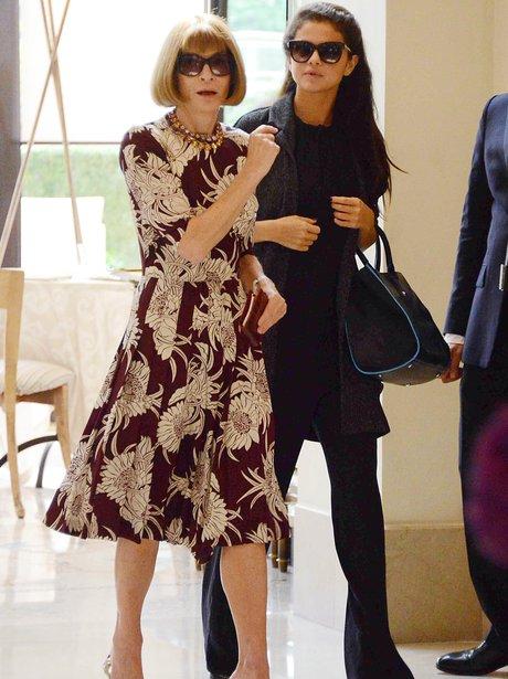 Selena Gomez and Anna Wintour