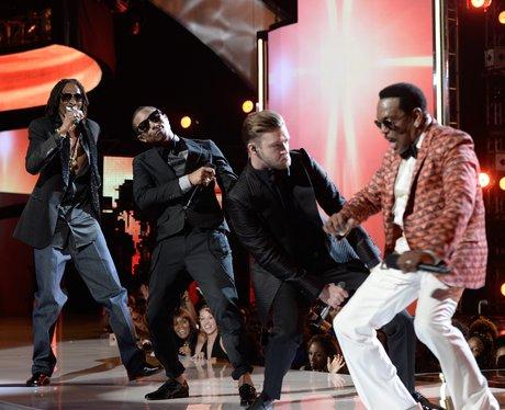 Snoop Dogg, Pharrell Williams, Justin Timberlake