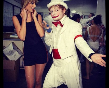 Tayler Swift and Ed Sheeran