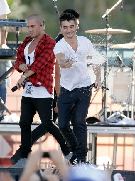 The Wanted at iHeart Radion in Las Vegas