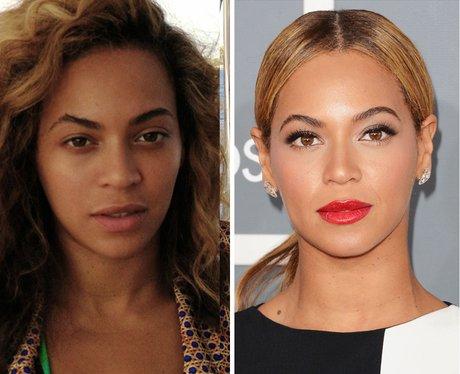 Beyonce No Make-Up