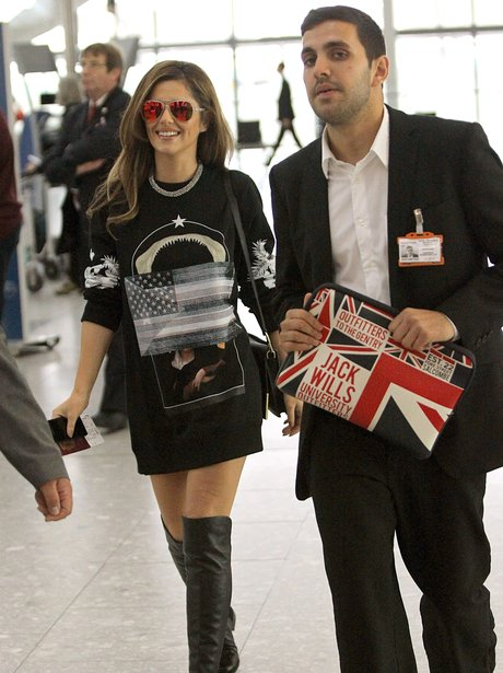 Cheryl Cole at the airport