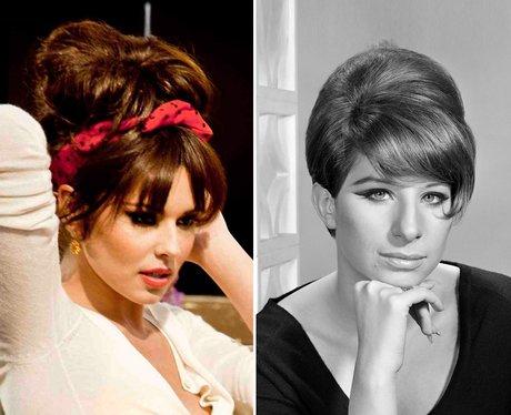 Cheryl Cole and Barbara Streisand