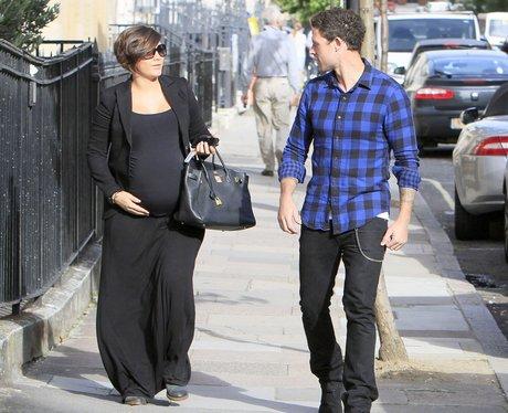 Frankie Sandford Baby Bump October
