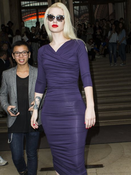 Iggy Azalea at Paris Fashion Week 2013
