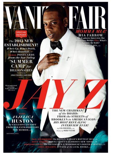 Jay Z Vanity Fair 2013