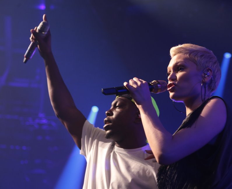 Jessie J and Dizzee Rascal iTunes 2013