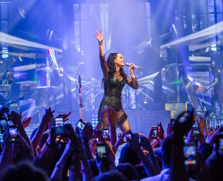 Katy Perry performing at iTunes Festival 2013