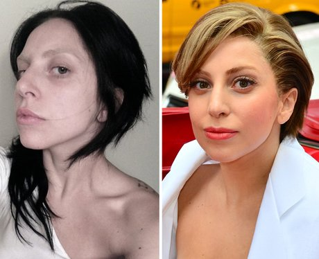 Very lady gaga without no makeup apologise