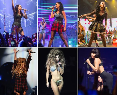 Lady Gaga Vs Katy Perry at iTunes Festival 2013