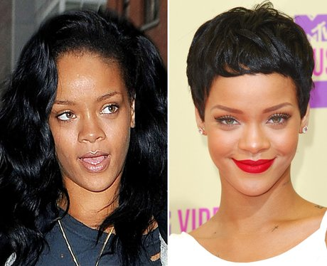 Rihanna No Make-Up