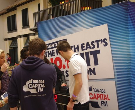 Student Lockin at Eldon Square