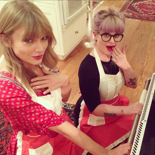 Taylor Swift Praised By Kelly Osbourne After Baking