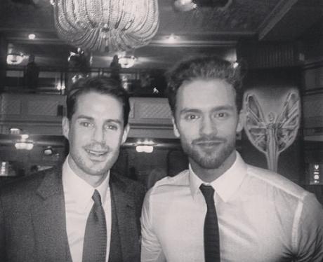 Andy Brown and Jamie Redknapp Instagram