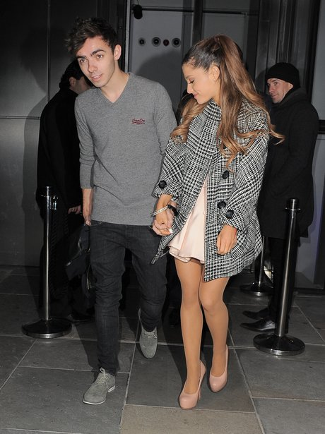 Ariana Grande and Nathan Sykes out for dinner